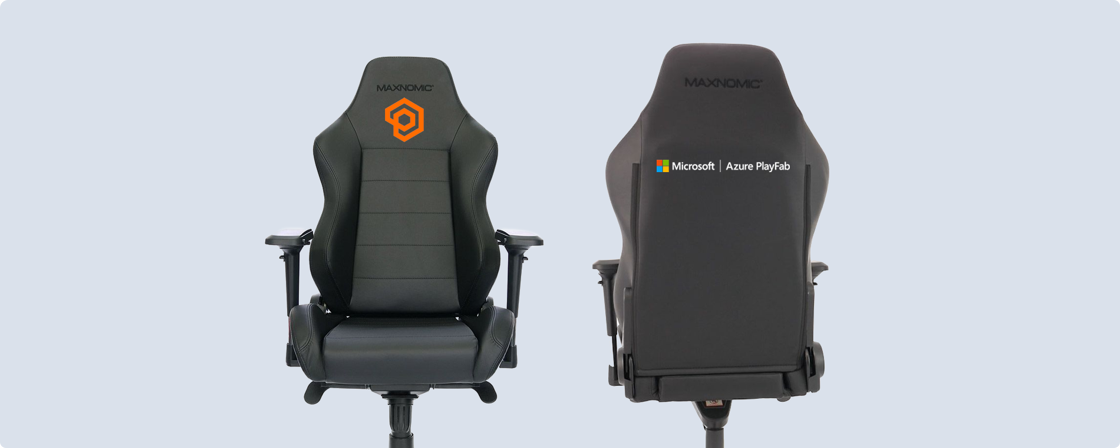 PlayFab Needforseat chair front and back